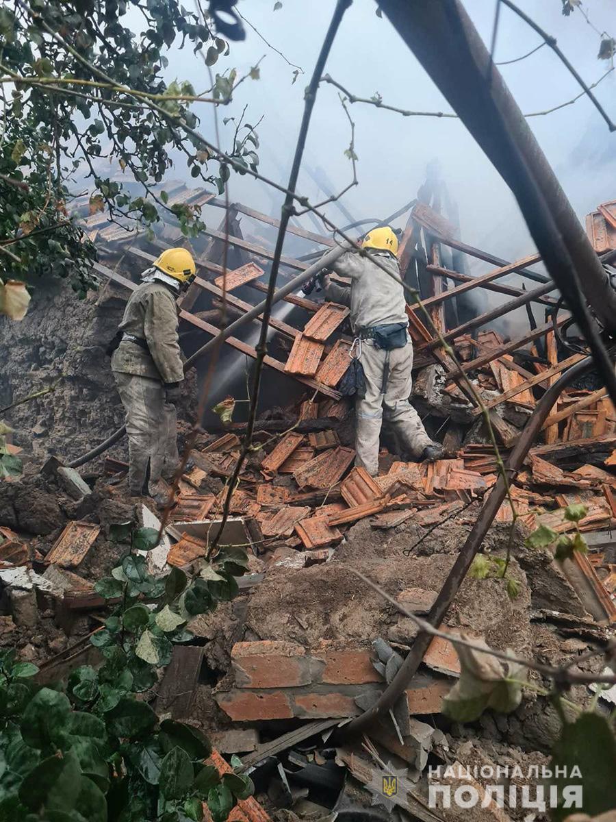 В Запорожской области второй взрыв за сутки: разнесло здание, есть пострадавший
