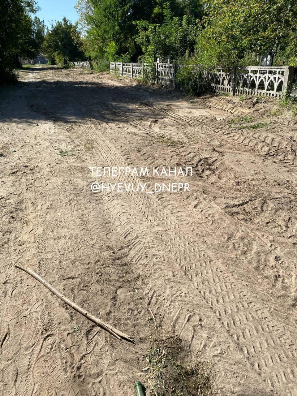 В Днепре разрушили кладбище для домашних животных: части тел выглядят из земли (фото)
