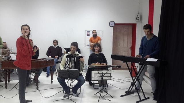 коллектив музыкантов