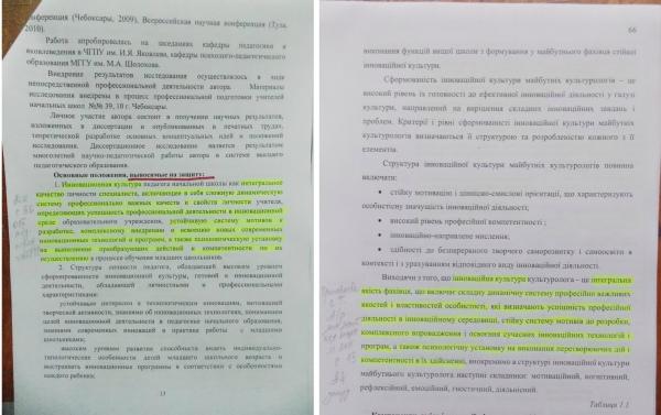Завкафедры КНУКИИ Треть диссертации жены министра Кириленко  Они состоят из текстов которые принадлежат другим авторам ссылки на которые отсутствуют или фальсифицированы написала Пархоменко в своем блоге