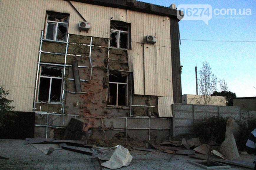 При атаке боевиками воинской части в Артемовске ранен один украинский военный, - ИС