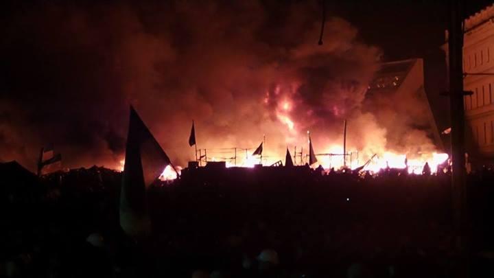 Штурм Майдана Независимости: онлайн-трансляция 19.02.2014