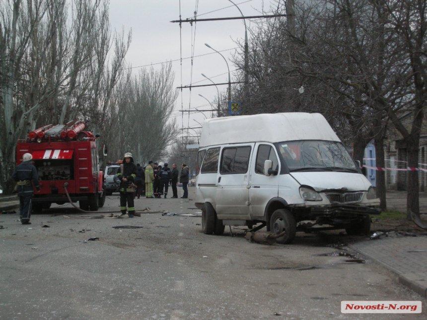 УМиколаєві поліцейський наBMW протаранив автомобіль: 4 загиблих