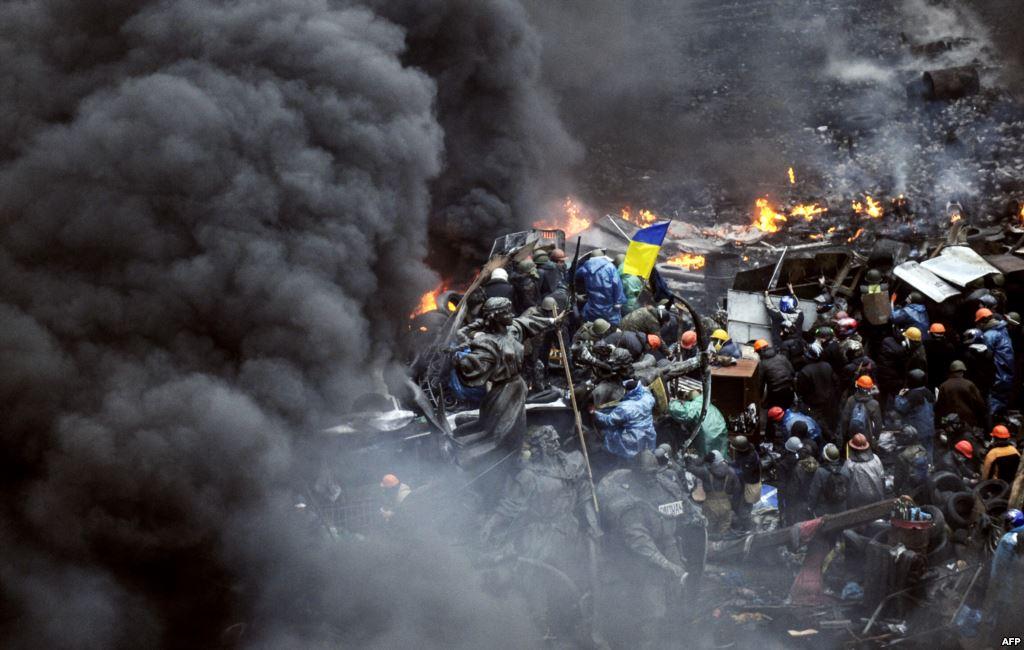 Майдан: онлайн-транслция ситуации в Киеве