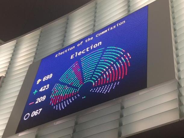 Європарламент схвалив новий склад