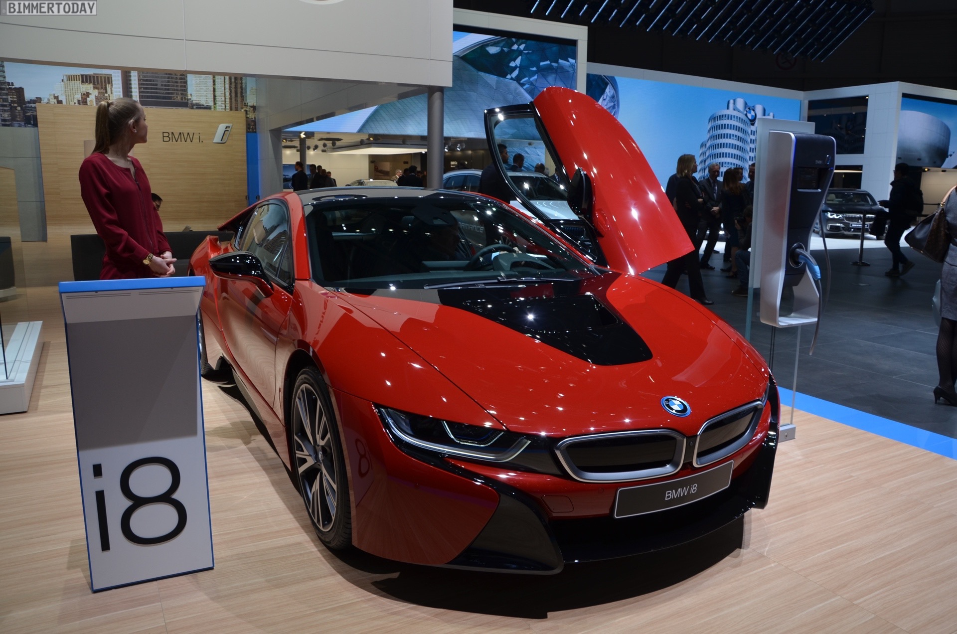 Bmw I8 Protonic Red Edition Thai Motor Expo