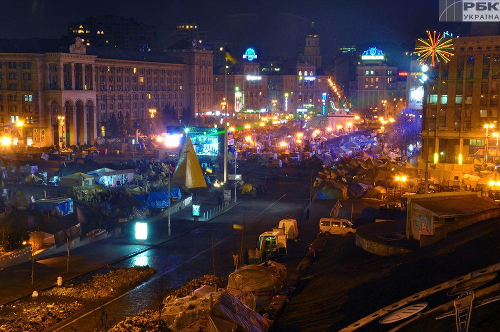 На Майдані перебуває близько 200 демонстрантів