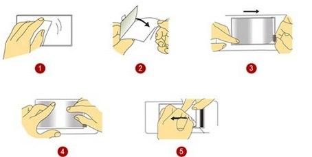Как правильно наклеить защитную пленку на экран