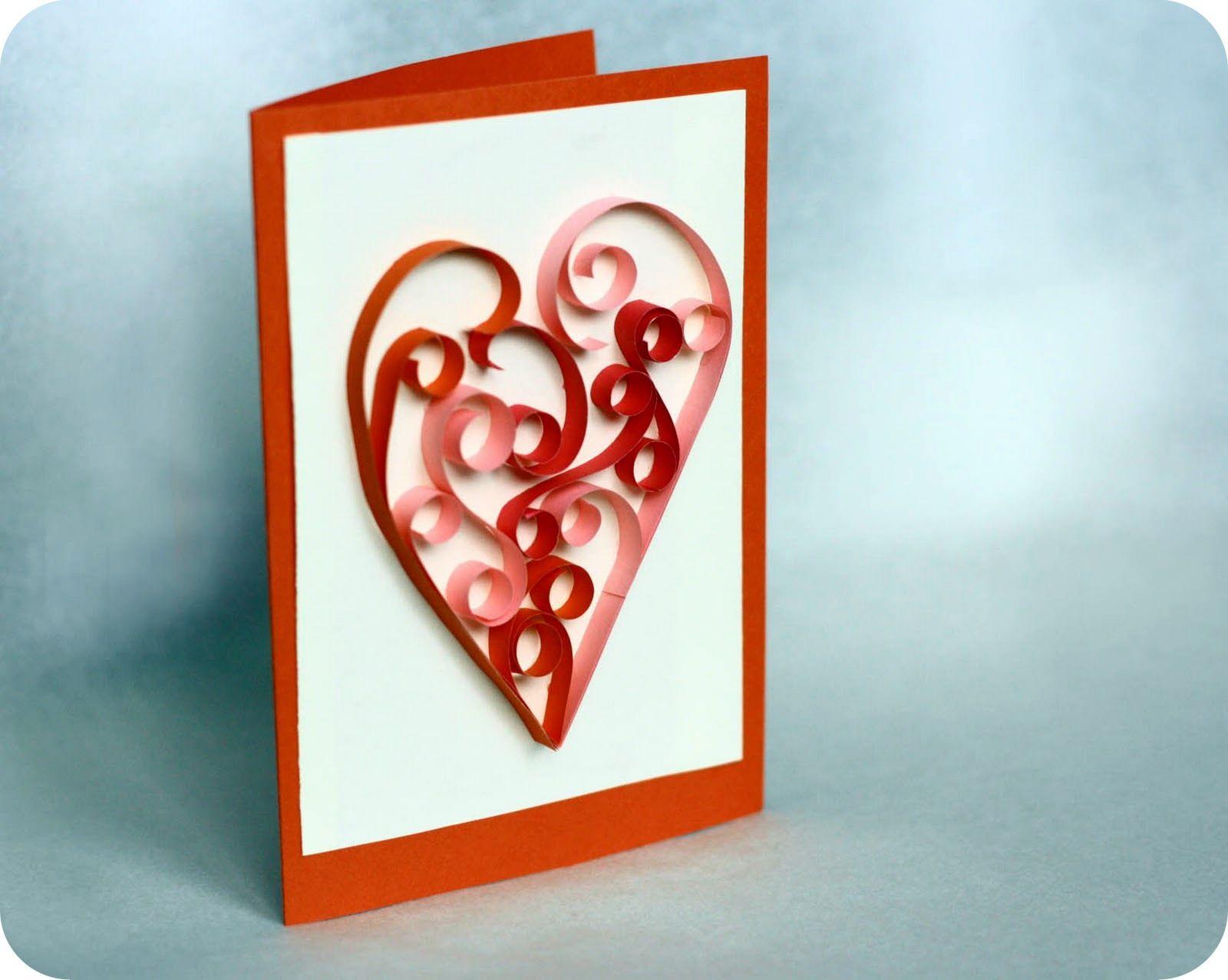 Картинки, открытки на день святого валентина своими руками видео