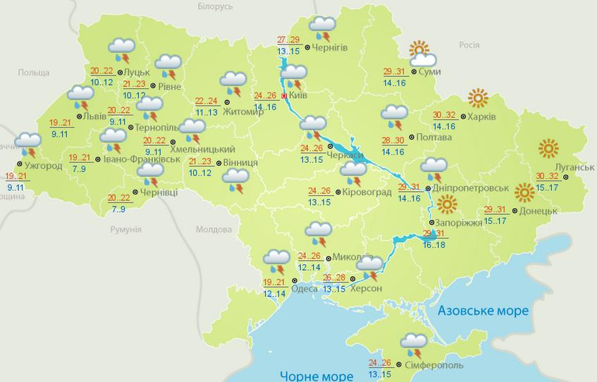 Прогноз погоды в анталии на июль 2016