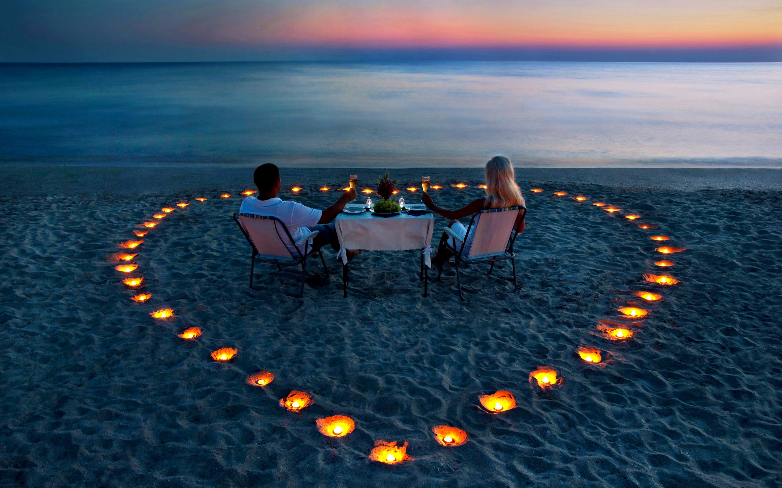 Романтичний вечір на 14 лютого