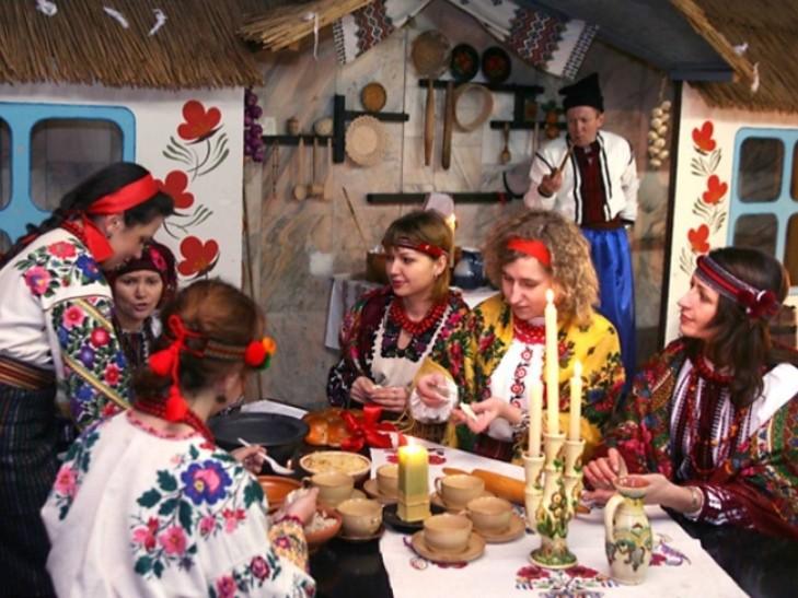 На Василя сім'я збиралася за святковим столом