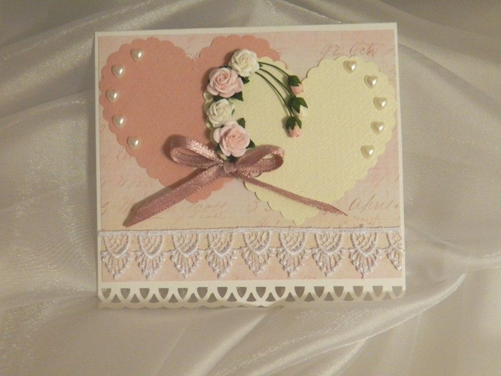 На день святого валентина открытки своими руками