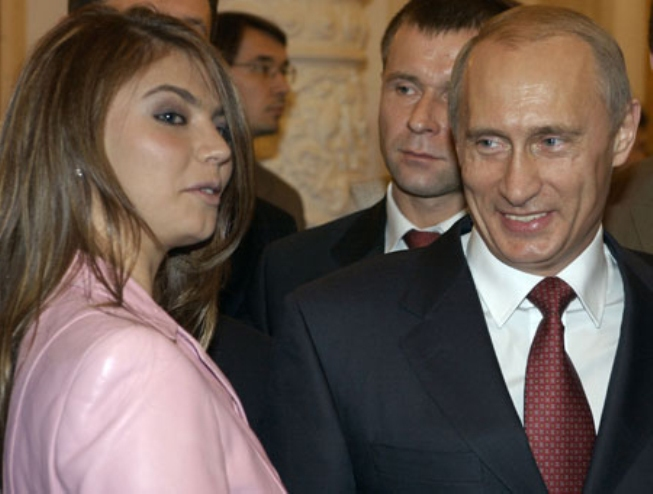 Путин и Кабаева свадьба венчание дети фото Путин и