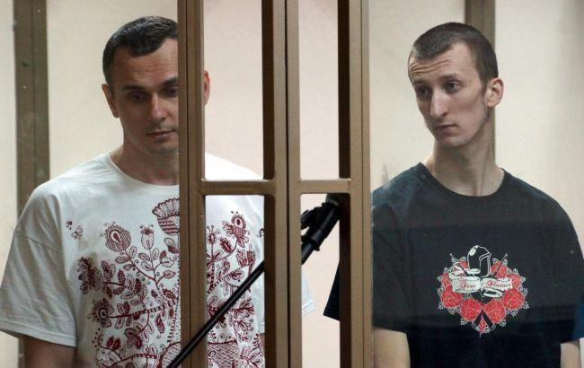 Фото: Олег Сенцов і Олександр Кольченко