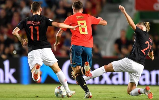 Фото: Іспанія - Хорватія (hns-cff.hr)