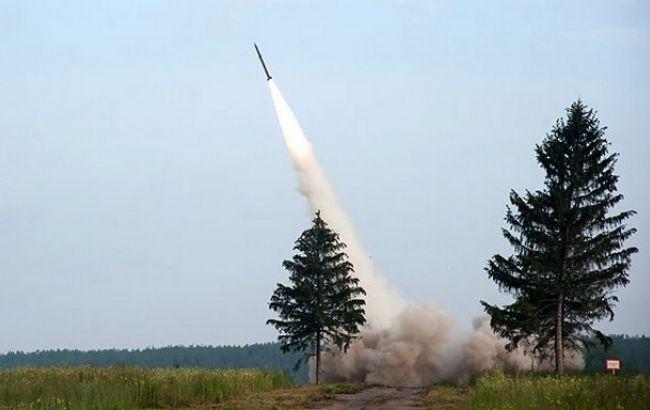 Фото: у Білорусі пройшли ракетні випробування (Белта)