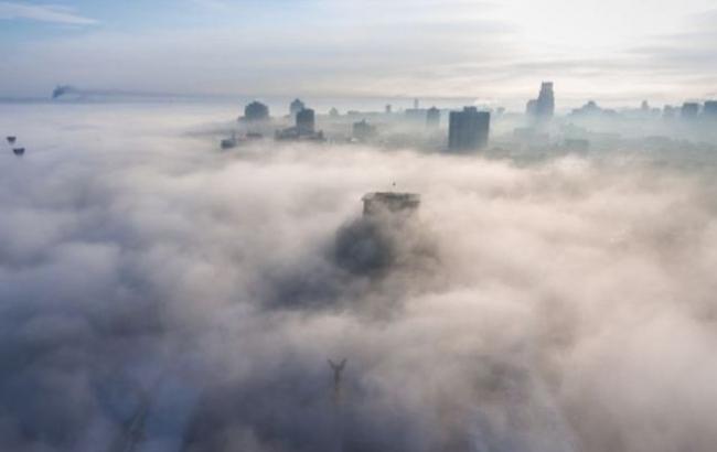 Синоптик объяснила, откуда взялся туман в Киеве