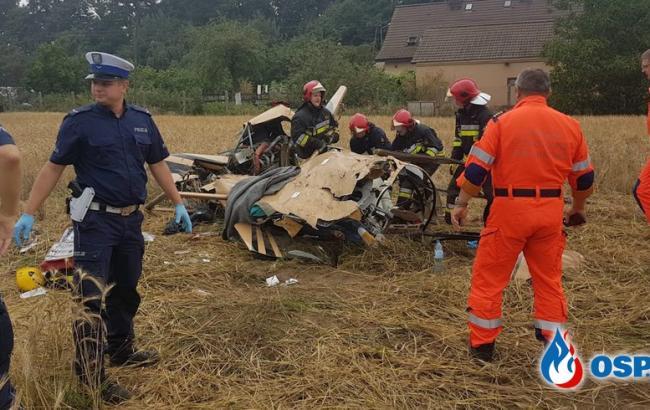 У Польщі розбився гелікоптер, загинули двоє людей