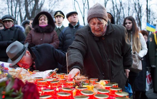 Фото: У столиці пройшла панахида за загиблими (РБК-Україна)