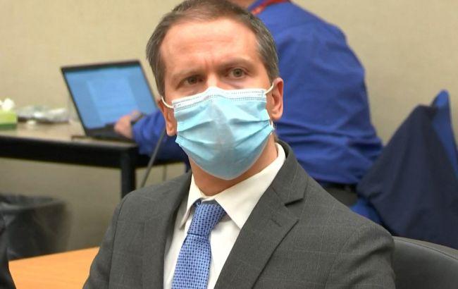 У США засуджений за вбивство Флойда офіцер попросив про новий судовий розгляд