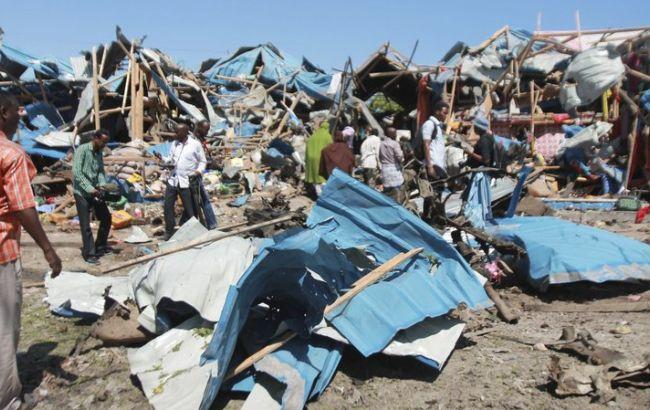 Фото: в Сомали в результате взрыва погибли 10 человек
