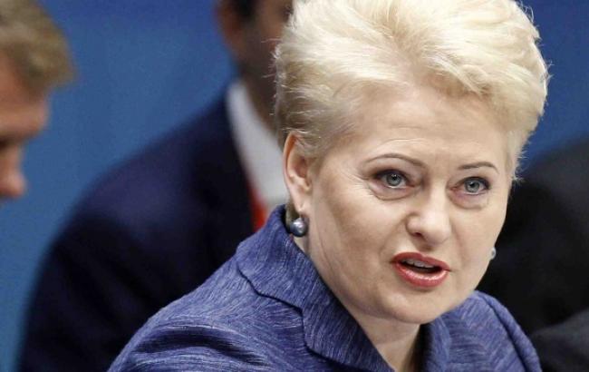 Президент Литви назвала РФ терористичною державою