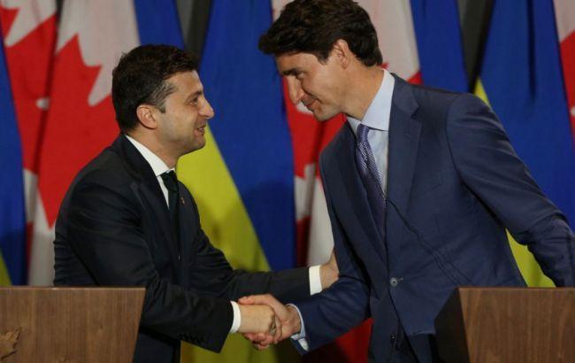 Зеленский и Трюдо договорились о совместных действиях в связи с авиакатастрофой в Иране