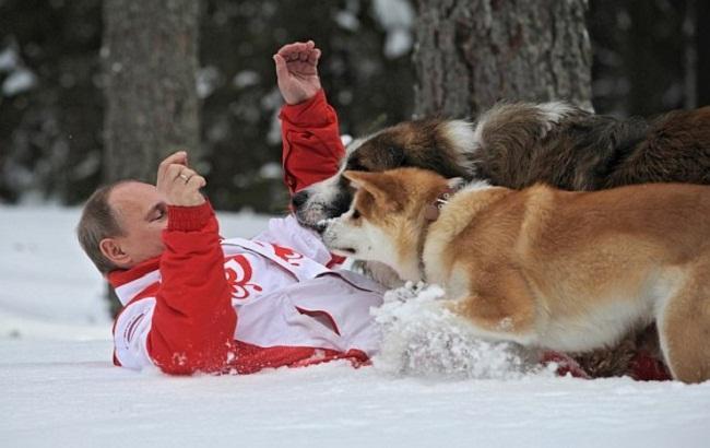 Фото: Володимир Путін стане героєм мультфільму