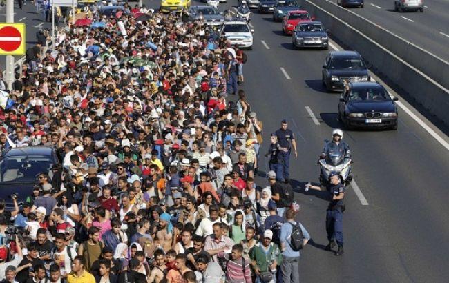 Фото: біженці в Європі
