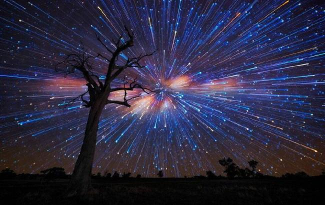 Фото: Метеоритный дождь (travel.china.com)