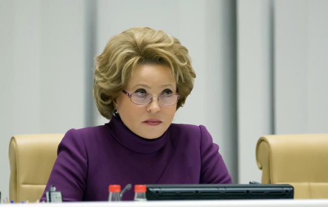 США не выдают визу главе Совфеда РФ Матвиенко