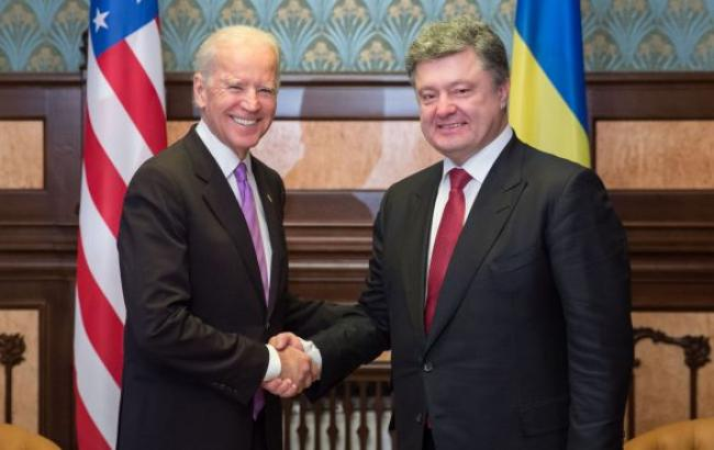 Порошенко та Байден домовилися про напрямки фінансової підтримки України