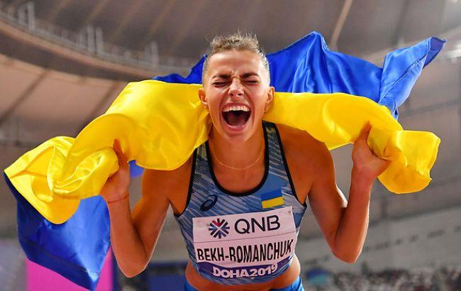 Бех-Романчук вперше визнана найкращою спортсменкою місяця в Україні