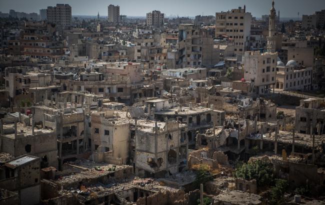 Фото: сирийский город Хомс
