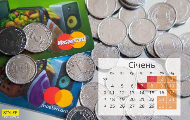 Что ждет Украину с 1 января: новые пенсии, тарифы, подорожание транспорта