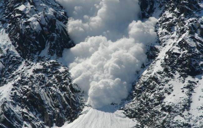 Фото: в Ивано-Франковской области сохраняется значительная лавинная опасность