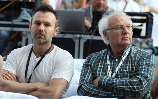 Фото: Іван Вакарчук і Святослав Вакарчук