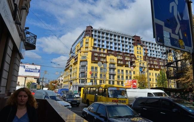 Фото: Уничтожение архитектуры Киева