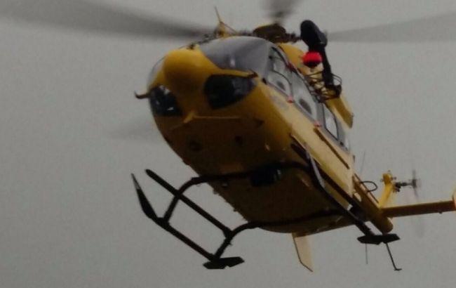 Фото: спасательный вертолет в Италии