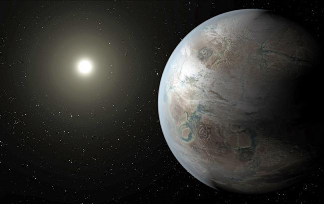 Фото: Модель планеты Kepler 452b