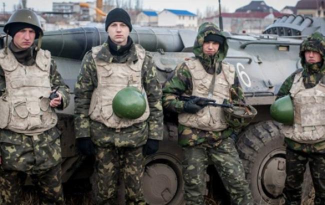 В зоне АТО за сутки погибли 4 украинских военных, 8 ранены, - штаб