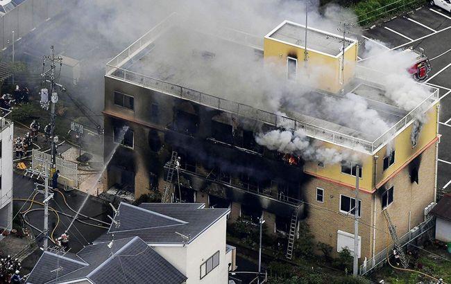 Число погибших из-за пожара в Японии на анимационной студии возросло