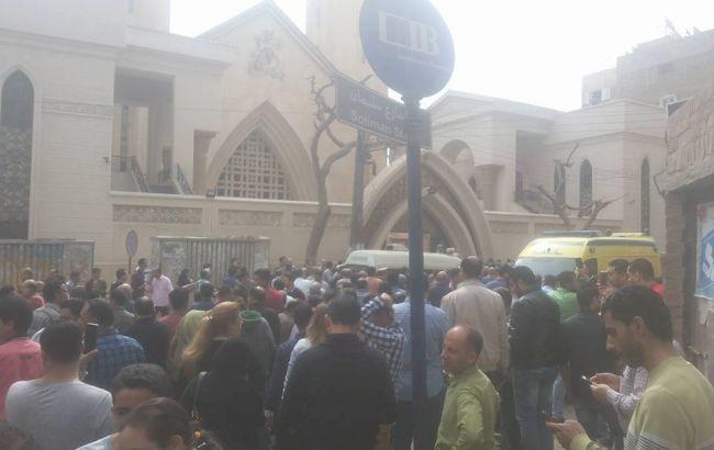 В Єгипті прогримів вибух біля церкви, десятки загиблих і поранених