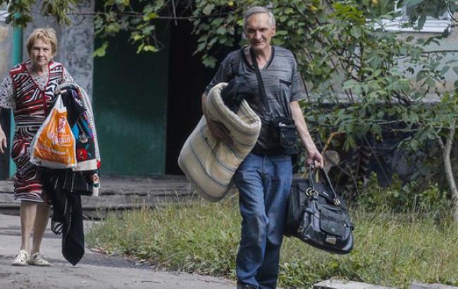 Кількість переселенців з зони АТО зросла до 447 тис. осіб, - РНБО