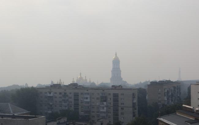 Как обезопасить себя от дыма: рекомендации для киевлян