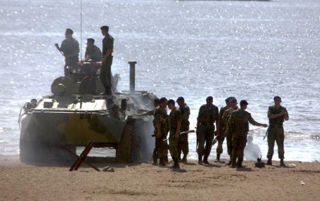 Розвідка заявляє про підготовку на Донбасі морської десантної операції РФ
