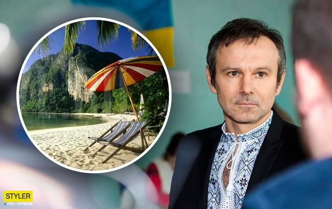 Летели рейсом МАУ: Вакарчук рассказал про отдых в Таиланде
