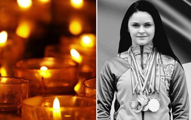Трагическая гибель чемпионки Украины: под Львовомпопрощались с 17-летней спортсменкой (видео)