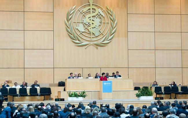 Україна проти обрання представника РФ главою сесії Всесвітньої асамблеї охорони здоров'я